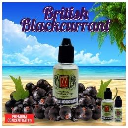Concentré British Blackcurrant par 77 Flavor