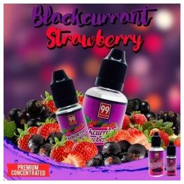 Concentré Blackcurrant Strawberry par 99 Flavor