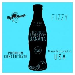 COCONUT RASPBERRY BANANA FIZZY BIG MOUTH