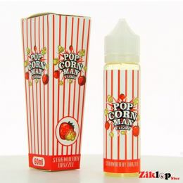 E-liquide Strawberry Drizzle Pop Corn Man - 50ml