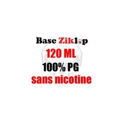 DIY Base 100%PG 120ml - Ziklop DIY