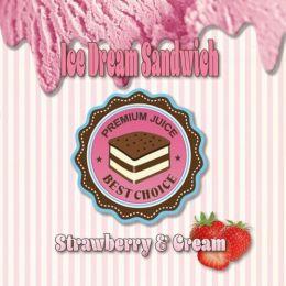 STRAWBERRY & CREAM ICE DREAM SANDWICH