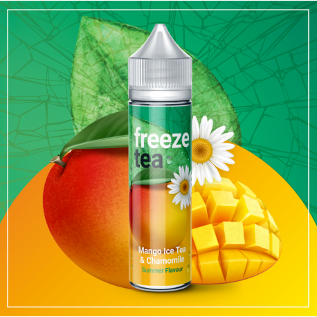 FREEZE TEA - Mango Ice Tea & Chamomile