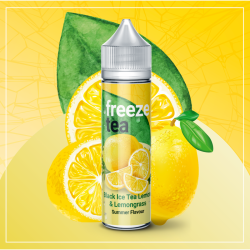 Concentré FREEZE TEA - Black Ice Tea Lemon & Lemongrass