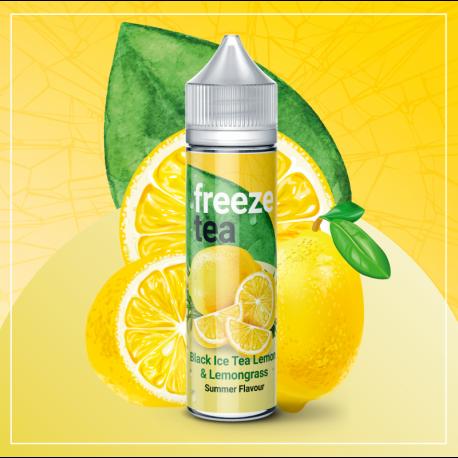 FREEZE TEA - Black Ice Tea Lemon & Lemongrass
