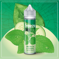 FREEZE TEA - Mint Ice Tea & Cucumber