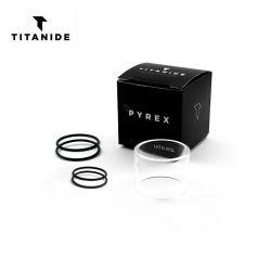 Tube Pyrex Leto RTA Titanide