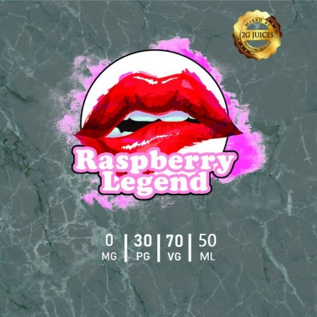 Raspberry Legend 50 ml by 2 G Juices
