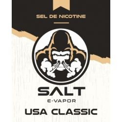 USA Classic - Salt E-Vapor - 10 ml