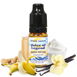 Concentré  Juice of Legend- Nuages des Iles - 10ml