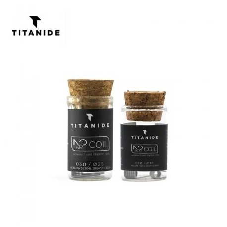 Pack 2 Inowire Coil Titanide