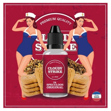 Cloudy Strike - TB Speculoos Original - 30 ML DIY