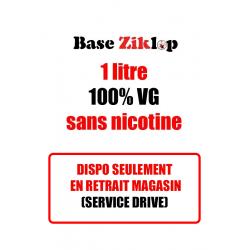 DIY Base Ziklop 1L 100% VG sans nicotine