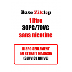 DIY Base 30PG/70VG 1L - Ziklop DIY
