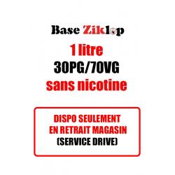 DIY Base Ziklop 1L 30pg/70vg sans nicotine