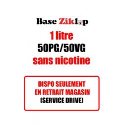 DIY Base Ziklop 1L 50/50 sans nicotine