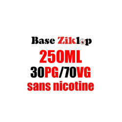 DIY Base 30PG/70VG 250ml - Ziklop DIY