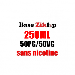DIY Base 50/50 250ml - Ziklop DIY