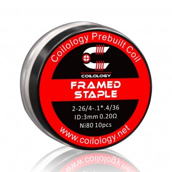 Pack 10 coils Framed Staple-Coilology 0.2
