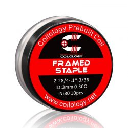 Pack 10 coils Framed Staple-Coilology