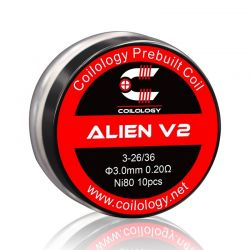 Pack 10 coils Alien V2 Coilology