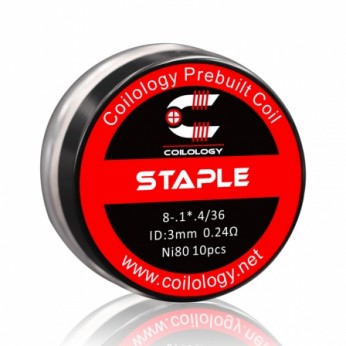 Pack 10 coils Staple Coilology 0.24