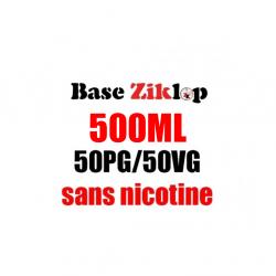 DIY Base 50/50 500ml - Ziklop DIY