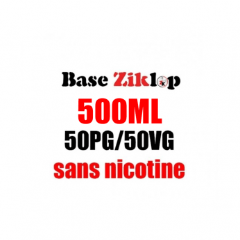 DIY Base 50%PG 50%VG Ziklop500ML