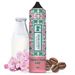Sakura Cream Latte 50ml - Mokasmo Aisu