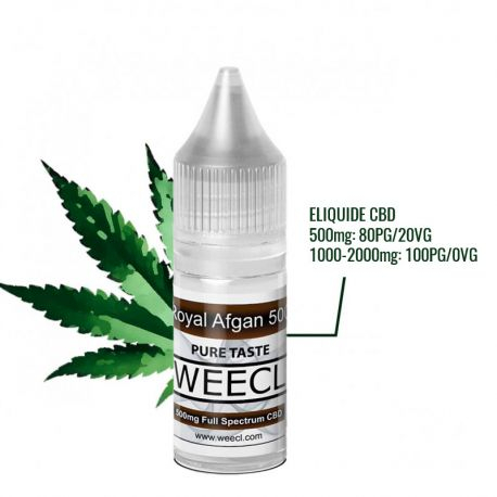 Eliquide CBD Royal Afgan - WEECL