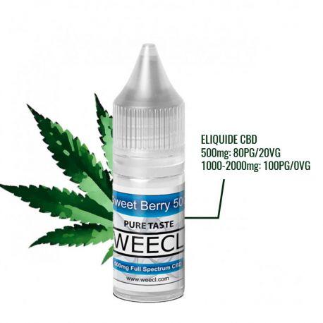 Eliquide CBD Sweet Berry - WEECL