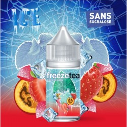 Concentré Fraise Tagada Tamarillo Ice Tea 30ml - Freeze Tea