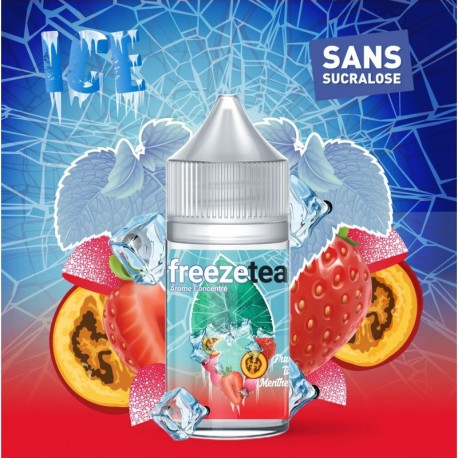 Concentré Fraise Tagada Tamarillo Ice Tea 30ml - Freeze Tea