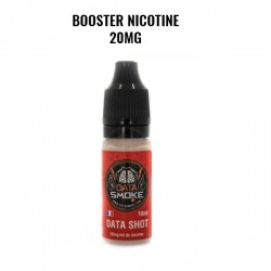 Booster de Nicotine Data shot 20mg - Datasmoke
