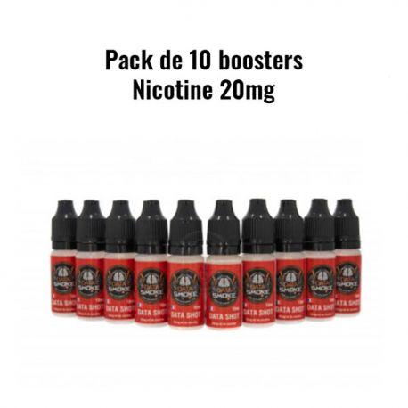 Booster de nicotine x 10 Datashot 20 mg/ml Datasmoke
