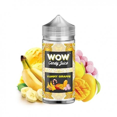 Yummy Giraffe 100ml - WOW - Candy Juice