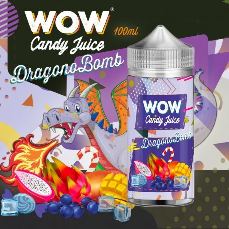 Dragonobomb 100ml - WOW - Candy Juice