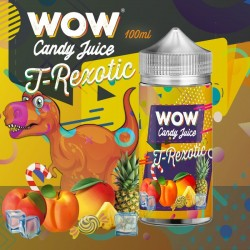 T-REXOTIC 100ml - WOW - Candy Juice